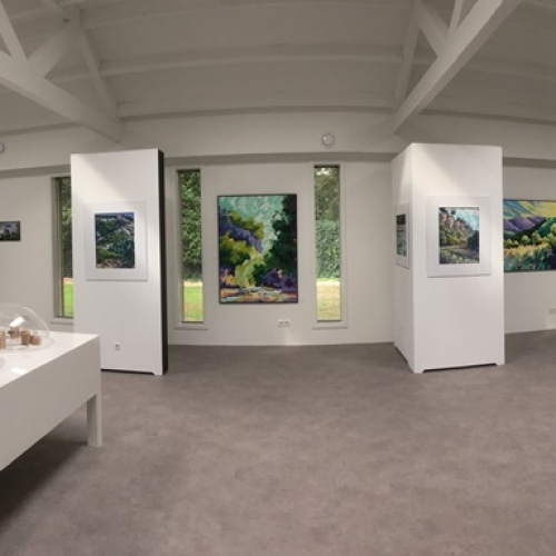Exhibition Frans van Veen and Moniek de Wijk Princenhaags Museum 2018