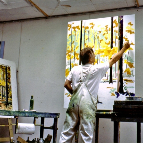 STUDIO   From Pastel to Oilpaint